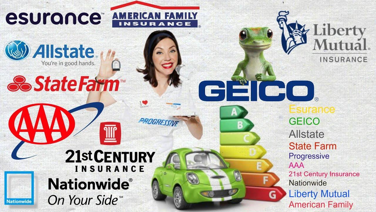 Top 10 Cheapest Car Insurance Companies - YouTube