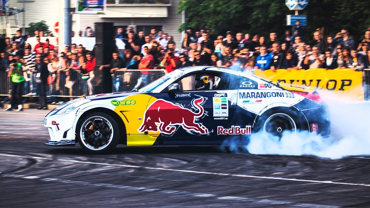 Drift Racing In Bulgaria Red Bull Car Park Drift Youtube