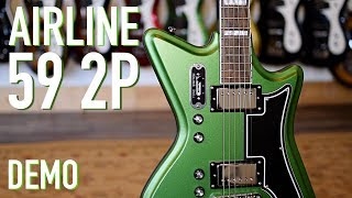 Airline 59 2P DEMO - Eastwood Guitars in Nashville