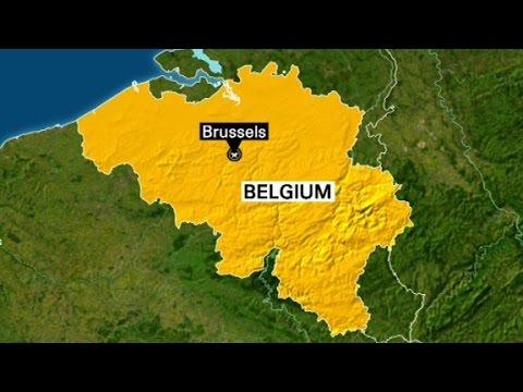 Police conduct raids in Belgium