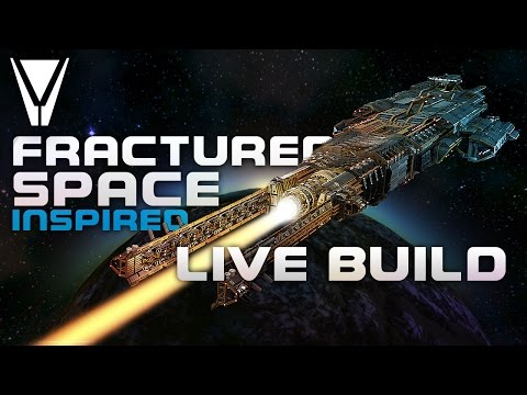 Live Build: Fractured Space Inspired [Space Engineers]