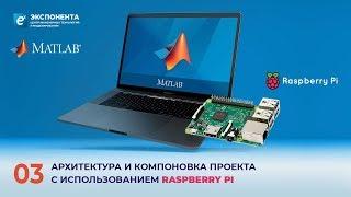 MATLAB + Raspberry Pi: 03. Архитектура и компоновка проекта с использованием Raspberry PI