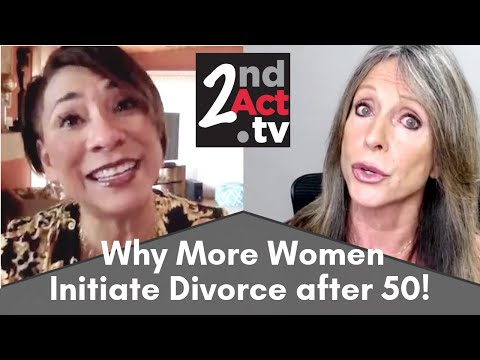Why Do More Women Initiate Divorce After 50 Than Men? The Truth About Gray Divorce!
