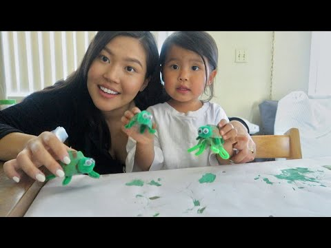 Arts and craft day with mommy | The Mongolian Family