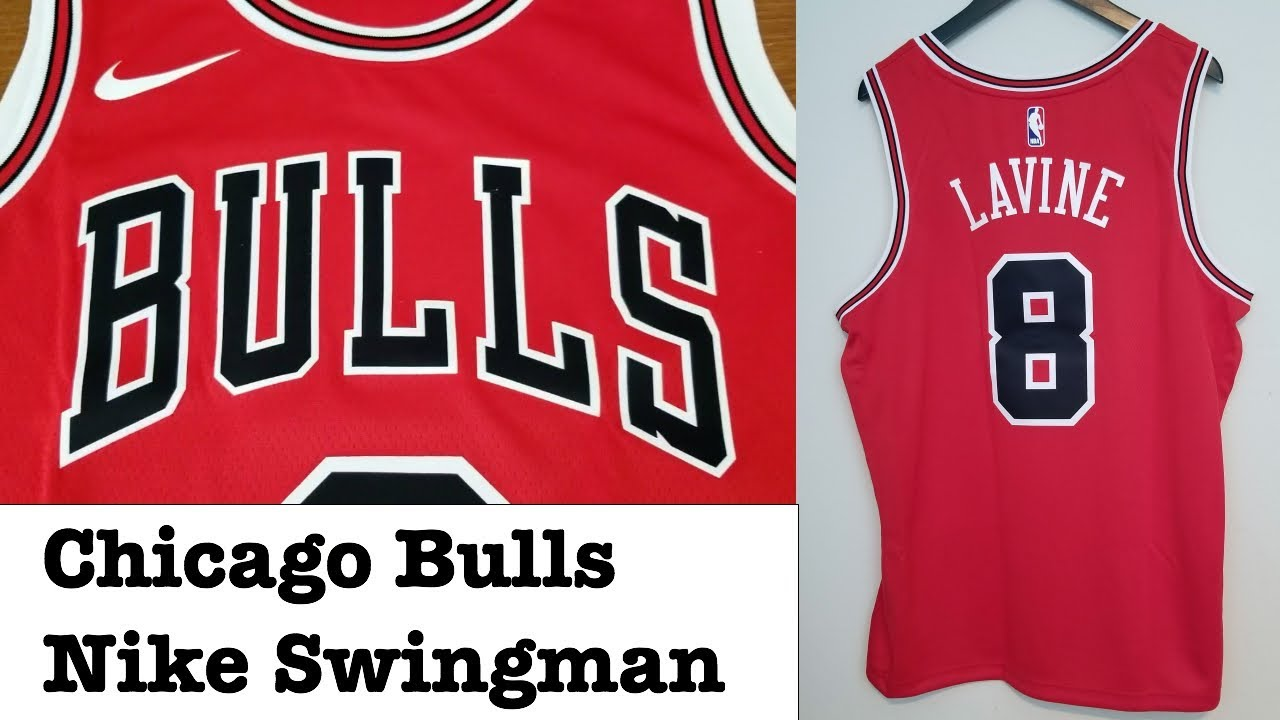 buy online 31f5c 98f9a Nike Chicago Bulls Swingman Jersey Zach Lavine Icon Edition