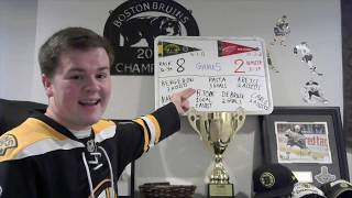 Bruins Fan Reaction - Game 5 - Pasta and Friends - BOS 8, DET2