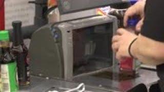 Groceries installing barriers amid virus outbreak