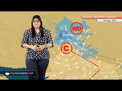Weather Forecast for April 7: Rain in Kashmir, Punjab, UP, Himachal, hot weather in Maharashtra, MP
