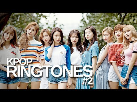 KPOP RINGTONES #2 | TWICE, SEVENTEEN, Taemin, EXID and more