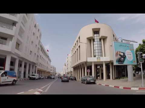 Maroc Rabat Centre ville, Gopro  Morocco Rabat City center, Gopro