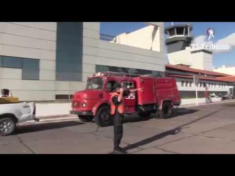 Concluyó exitosamente el simulacro realizado en el aeropuerto Martín Miguel de Güemes
