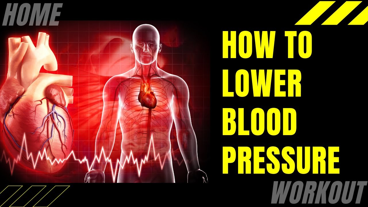 How To Lower Your Blood Pressure With Exercise