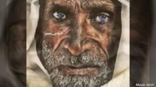 صور حزينه مع قصيده باسم الكربلائي نوح اليتامى