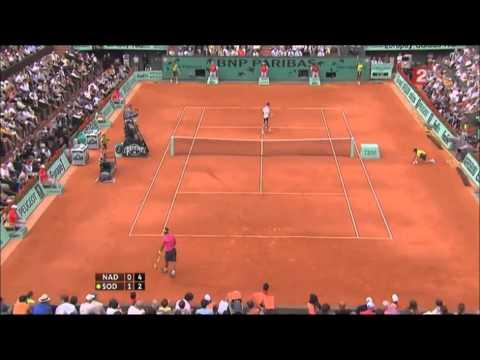 Soderling Vs Nadal French Open 2009 part 1
