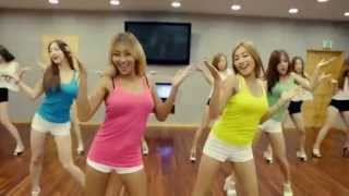 Repeat youtube video SISTAR 'Touch My Body' mirrored Dance Practice