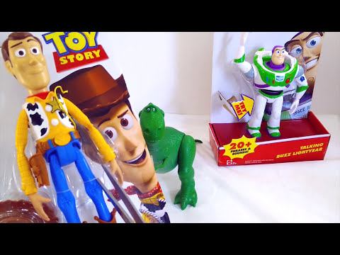 Thumbnail: Best Learning Video For Children - Opening New Toy Story Woody Doll Buzz Lightyear Toys