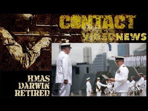 HMAS Darwin Formally Decommissioned