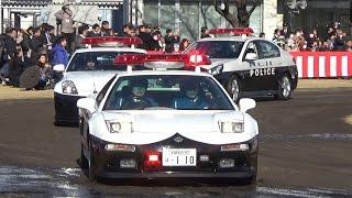 平成29年度 栃木県警察視閲式 車両行進