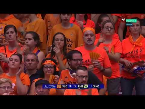 FINAL ACB 4º PT VALENCIA BASKET - REAL MADRID 1ª PARTE NARRA