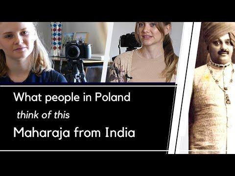 What Polish people think of the Indian Maharaja I Karolina Goswami