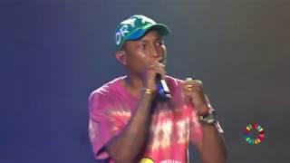 Pharrell Makes Heartfelt Speech at Global Citizen Festival Hamburg