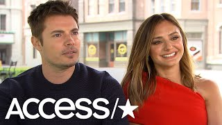 'The Arrangement': Josh Henderson & Christine Evangelista Talk Fan Encounters At Music Fests! | Acce