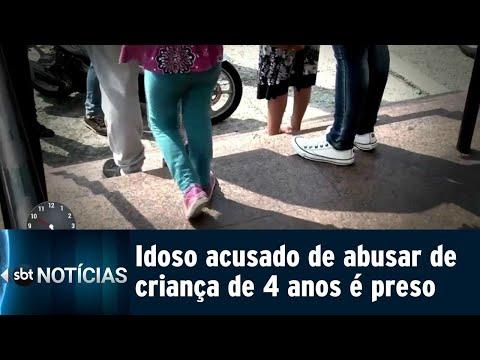 Homem é preso em flagrante acusado de abusar de menina de 4 anos | SBT Notícias (12/09/18)
