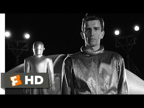 The Day the Earth Stood Still (4/5) Movie CLIP - Klaatu