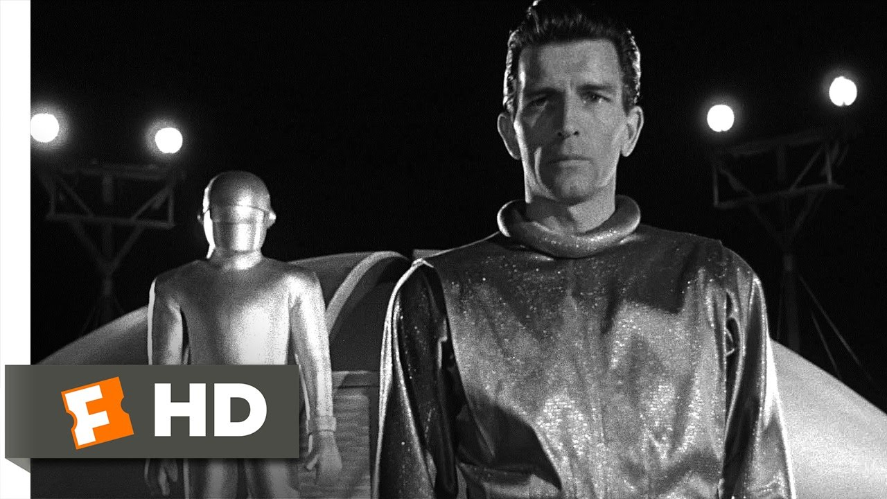 The Day The Earth Stood Still 4 5 Movie Clip Klaatu S Speech 1951 Hd Youtube