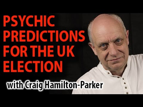 Psychic Predictions for British General Election and French Elections.