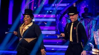 Alison Hammond & Aljaz Skorjanec Charleston to 'Friend Like Me' - Strictly Come Dancing: 2014 - BBC