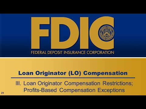 Loan Originator Compensation - Compensation Restrictions and Exceptions