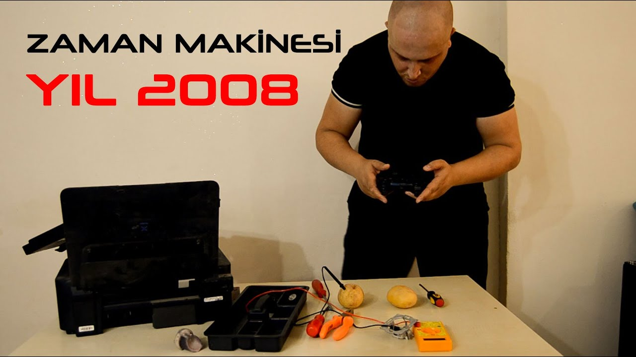 Zaman Makinesi Yıl 2008 - Skeç