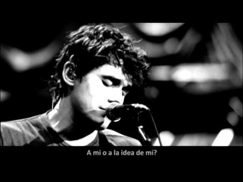 John Mayer - I Don't Trust Myself With Loving You (Subtitulada en Español - Traducida) [VIVO]