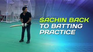 Sachin Tendulkar getting back in the groove