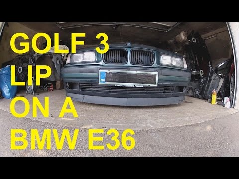 project e36 compact pt 1 installing a golf 3 lip spoiler. Black Bedroom Furniture Sets. Home Design Ideas