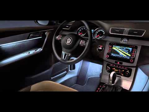 New VW Passat Interior - YouTube