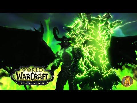 Gul'dan DEATH Cinematic [Illidan RETURNS!] - WoW Legion 7.1.5