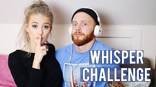whisper challenge with my bf   inthefrow