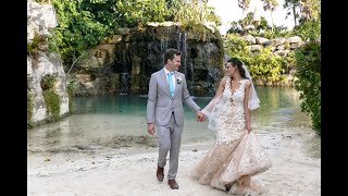 Hotel Xcaret Mexico Wedding Film.  Anna & Dominik Highlights video