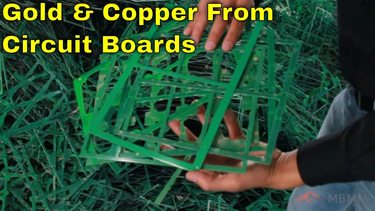 Mbmm Euro Trip Part 1 Processing Pcb Boards For Copper And Precious Recycledcircuitboardlamp1ajpg Metal Recovery