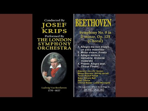 Symphony No. 9 In D Minor, Op. 125 Choral: II. Molto Vivace, Presto (feat. Leslie Woodgate, BBC...