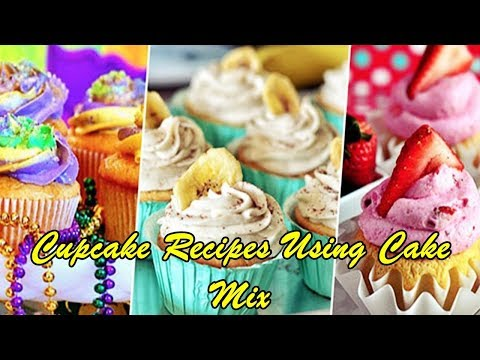 Cupcake Recipes Using Cake Mix
