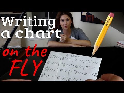 How To Write A Chart On The Fly
