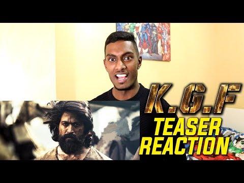 KGF Kannada Teaser Reaction & Review | Rocking Star Yash | PESH Entertainment