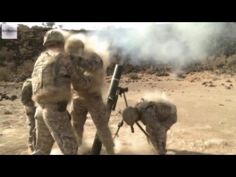U.S. Army Infantry - Live Fire Mortar Exercise