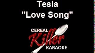CKK - Tesla - Love Song (Karaoke)