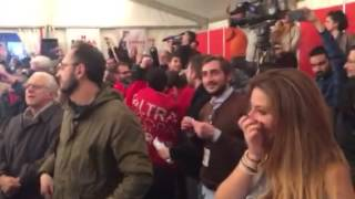 Emotional Bella Ciao at Syriza Celebration | 25 Jan 2015