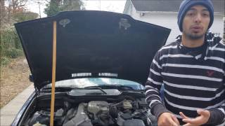1995 BMW 318i Starter Replacement