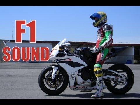 Honda CBR 600RR  -  F1 sound!!